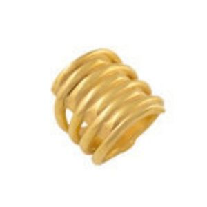 UNO de 50 Tornado Gold Ring